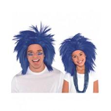 Blue Crazy Wig