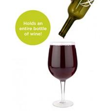 Big Swig Full Bottle Wine Glass