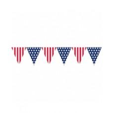 Patriotic Banner Pennant
