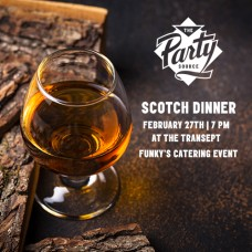 Scotch Dinner with Funky's Catering
