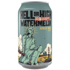 21st Amendment Hell Or High Watermelon Wheat Beer 6 Pack