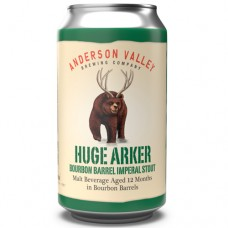 Anderson Valley Huge Arker Bourbon Barrel Imperial Stout 4 Pack