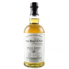 Balvenie Single Malt Scotch Single Barrel 25 yr.