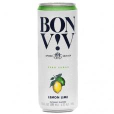 Bon and Viv Spiked Seltzer Lemon Lime 6 Pack