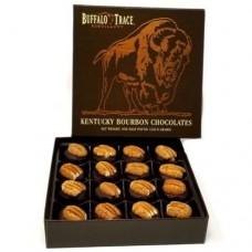 Buffalo Trace Chocolate Bourbon Balls 16 pc