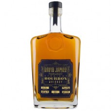 David James Straight Bourbon Whiskey Gold