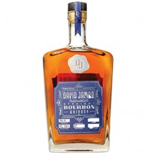David James Straight Bourbon Whiskey Platinum