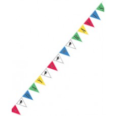 Kentucky Derby Decorations-Day at the Races Pennant Banner