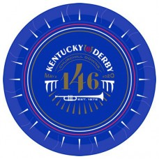 Kentucky Derby Tableware - 146th Kentucky Derby Logo Lunch Plate