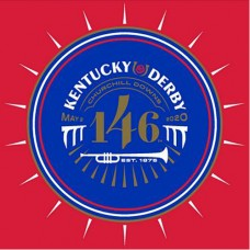 Kentucky Derby Tableware - 146th Kentucky Derby Logo Beverage Napkins