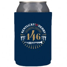 Kentucky Derby Drinkware - Can Holder 146th Kentucky Derby Logo