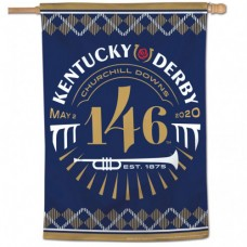 Kentucky Derby Decorations- 146th Kentucky Derby Logo Banner