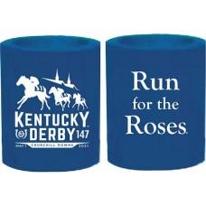 Kentucky Derby Drinkware-147th Kentucky Derby Logo Foam Can Holder