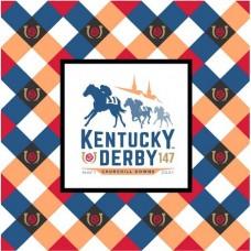 Kentucky Derby Tableware-147th Kentucky Derby Logo Luncheon Napkins