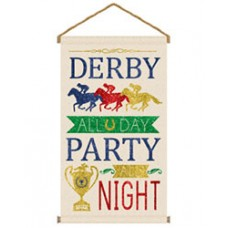 Kentucky Derby Decorations-Derby Day Canvas Sign