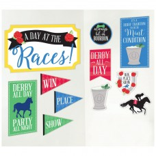 Kentucky Derby Decorations-Derby Day Cutouts