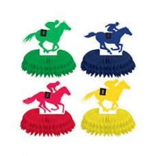 Kentucky Derby Decorations - Jockey and Horse Centerpiece
