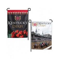Kentucky Derby Flags and Garden-Kentucky Derby Logo Garden Flag