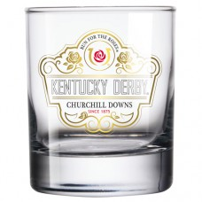 Kentucky Derby Glassware - 146th Kentucky Derby Logo Old Fashioned Glass