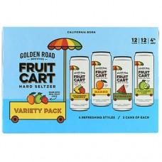 Golden Road Fruit Cart Hard Seltzer Variety 12 Pack