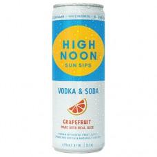High Noon Grapefruit Vodka and Soda 4 Pack