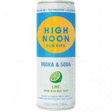 High Noon Lime Vodka and Soda 4 Pack