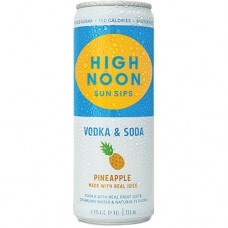 High Noon Pineapple Vodka and Soda 4 Pack