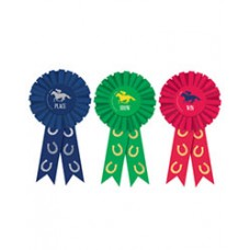 Kentucky Derby Accessories - Win Place Show Award Ribbons