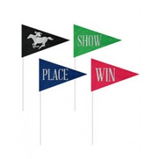 Kentucky Derby Decorations - Horse Race Felt Pennants