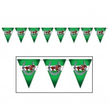 Kentucky Derby Decorations-Horse Racing Pennant Banner