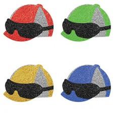 Kentucky Derby Decorations-Jockey Helmet Confetti