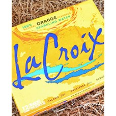 La Croix Orange Sparkling Water