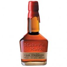Maker's Mark Bourbon Cask Strength 750 ml Engraved