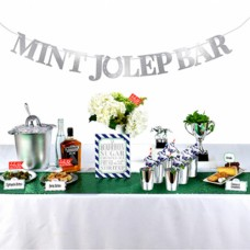 Kentucky Derby Tableware - Mint Julep Bar Decoration Kit