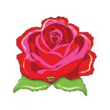 Kentucky Derby Decorations-Rose Mylar
