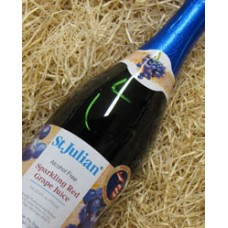 St. Julian Sparkling Red Grape Juice Alcohol Free