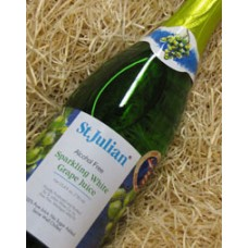 St. Julian Sparkling White Grape Juice Alcohol Free