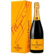 Veuve Clicquot Yellow Label Brut Champagne 750 ml Gift Box