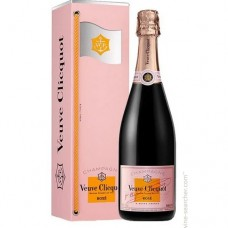 Veuve Clicquot Brut Rose Champagne Message Gift Box