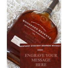 Woodford Reserve Bourbon Engraved
