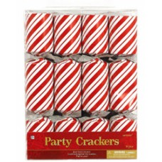 Candy Cane Christmas Crackers